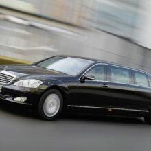 Показан редчайший лимузин Mercedes S600