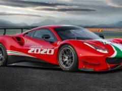 Представлен обновленный гоночный Ferrari 488 GT3 Evo