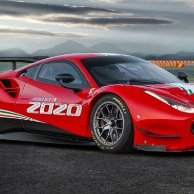 Ferrari 488 GT3 Evo новый