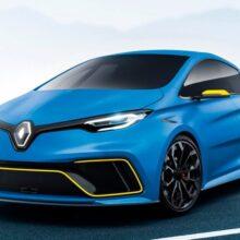 Новый Renault ZOE RS электрокар, который заменит Clio RS