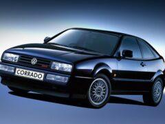 Появились дизайнерские изображения хэтчбека Volkswagen Corrado