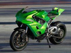 Мотоциклы Kawasaki получат опции премиальных авто