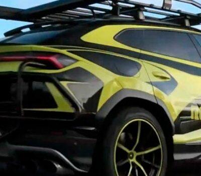 Lamborghini Urus ST-X, спецверсия,гонки