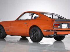 Один из самых дорогостоящих Nissan в истории продадут на аукционе