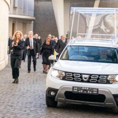 Renault Duster для папы римского