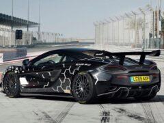 McLaren показала эксклюзивный дорожный суперкар 620R