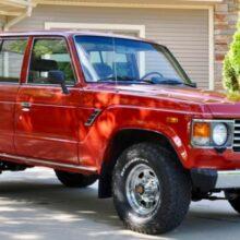 На продажу выставлен редкий Toyota Land Cruiser из прошлого века