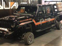 Тюнеры построили Jeep Gladiator с колесами, как у «Оки»
