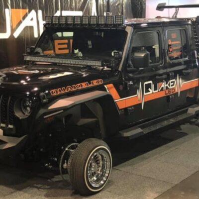Jeep Gladiator, колеса Оки