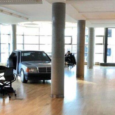 Mercedes-Benz, офис, переговорная