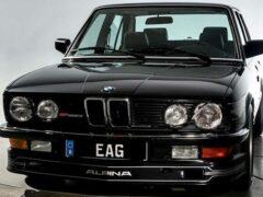Редкий BMW Alpina B7 Turbo, популярный в 80-е, выставлен на продажу