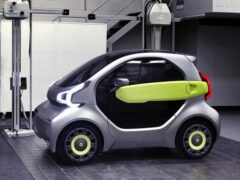 В Китае начнут печатать дешевый электрокар на 3D-принтере