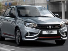 Обнародовали результаты продаж Lada Vesta Sport в России