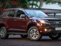 Chevrolet готовит к показу новый рамный внедорожник Trailblazer