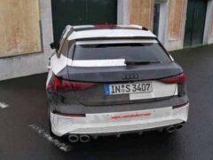 Новый Audi S3 замечен накануне дебюта