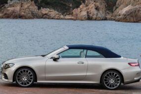 Mercedes-Benz готовится обновить кабриолет E-Class