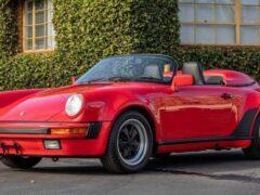 На торги выставлен редкий Porsche 911 1989 года выпуска