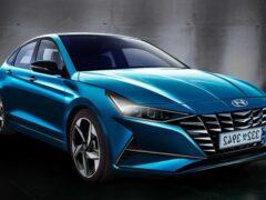 В Сети показали рендеры новой Hyundai Elantra