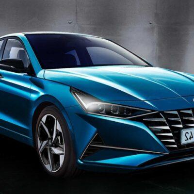 рендер новой Hyundai Elantra