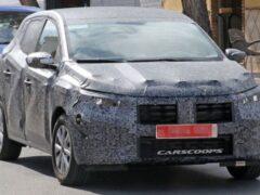 Renault готовит новое поколение хэтчбека Renault Sandero