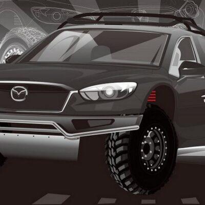 Mazda CX-5 для ралли