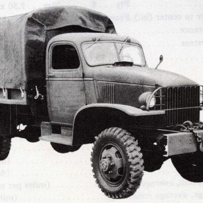 GMC CCKW, грузовик, 1943 года