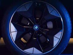 Электрический BMW iX3 получит особые аэродинамические колеса