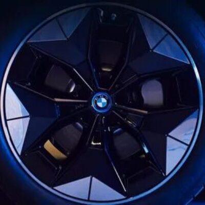 BMW iX3, аэродинамические колеса