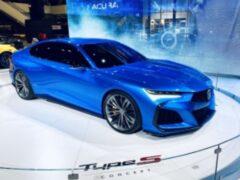Компания Acura презентовала концепт модели Type S