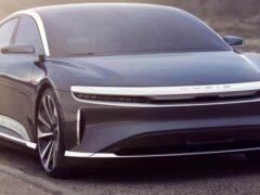 Седан Lucid Air станет первым 900-вольтовым электромобилем