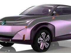 Suzuki представила невероятный концепт электрического кроссовера