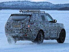 Новый внедорожник Range Rover Sport замечен на зимних тестах