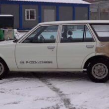 В России нашли 32-летнюю Toyota, которая простояла 25 лет
