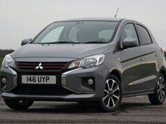 Mitsubishi начал продажи своего обновленного хэтчбека Mirage