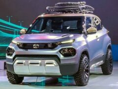 Tata представила недорогой кроссовер размером с «Ниву»