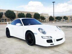 На продажу выставлен редкий Porsche 911 Carrera S с одним сиденьем