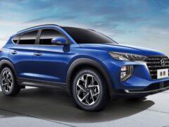 Презентован рестайлинговый кроссовер Hyundai Tucson