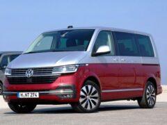 Новый Volkswagen T6.1 появится в России в марте