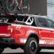 Пикап Mercedes-Benz превратили в автопоезд для байкеров