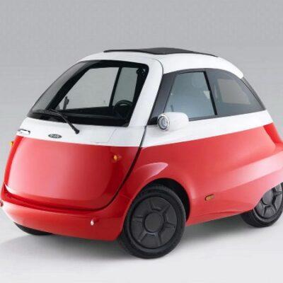 Microlino 2.0 в стиле BMW Isetta