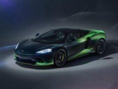 McLaren выпустил суперкар GT Verdant Theme с роскошным интерьером