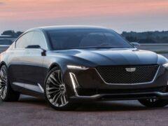 Новый флагманский седан от Cadillac получит название Celestiq