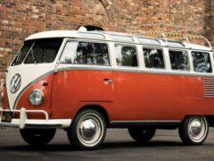 Винтажный Volkswagen Bulli стал электромобилем