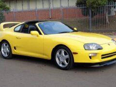 В продаже появилась одна из самых редких версий Toyota Supra