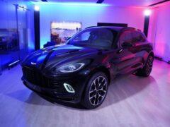Aston Martin может выпустить купе и 7-местную версию модели DBX