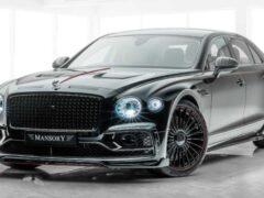 Тюнеры Mansory показали доработанный седан Bentley Flying Spur