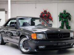Редкое купе Mercedes-Benz выставили на продажу