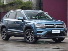 Новый Volkswagen Tarek заметили без камуфляжа