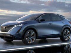 Nissan запатентовал в России имя Ariya