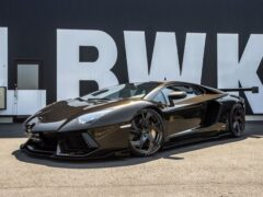 Японское ателье продает доработанный Lamborghini Aventador
